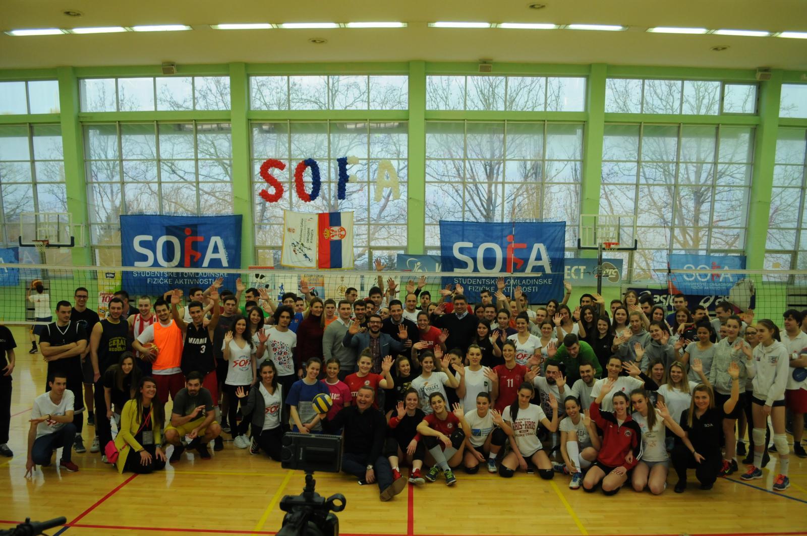 Одржан мини турнир СОФА challenge на Кошутњаку