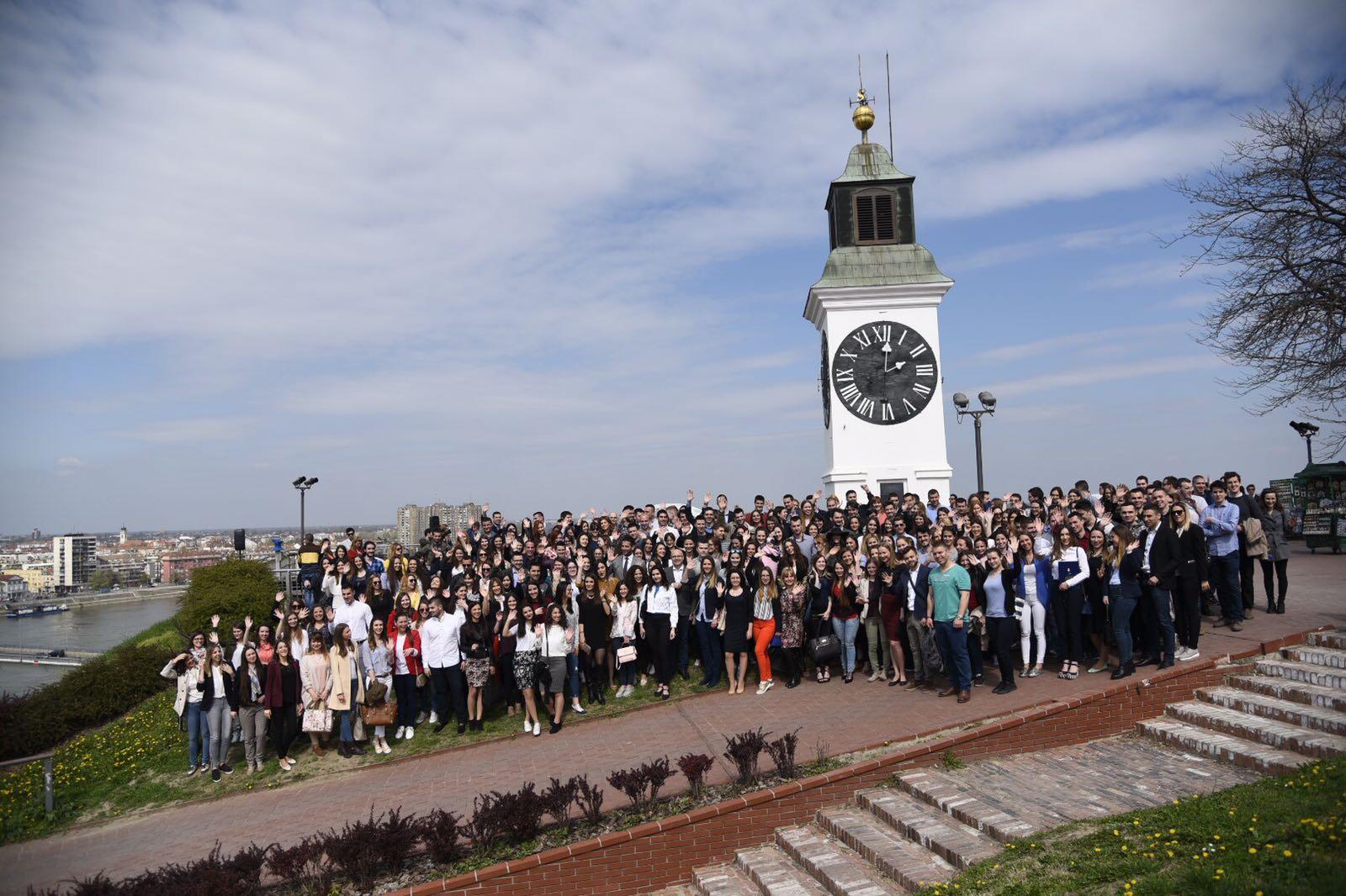 Министар Удовичић доделио стипендије у Новом Саду