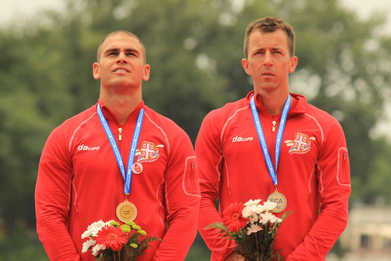 МинистарУдовичић честитao кајакaшима освојенузлатну медаљу