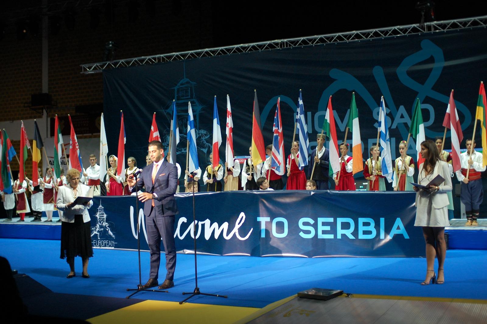 Отворено Европско првенство у мачевању у Новом Саду