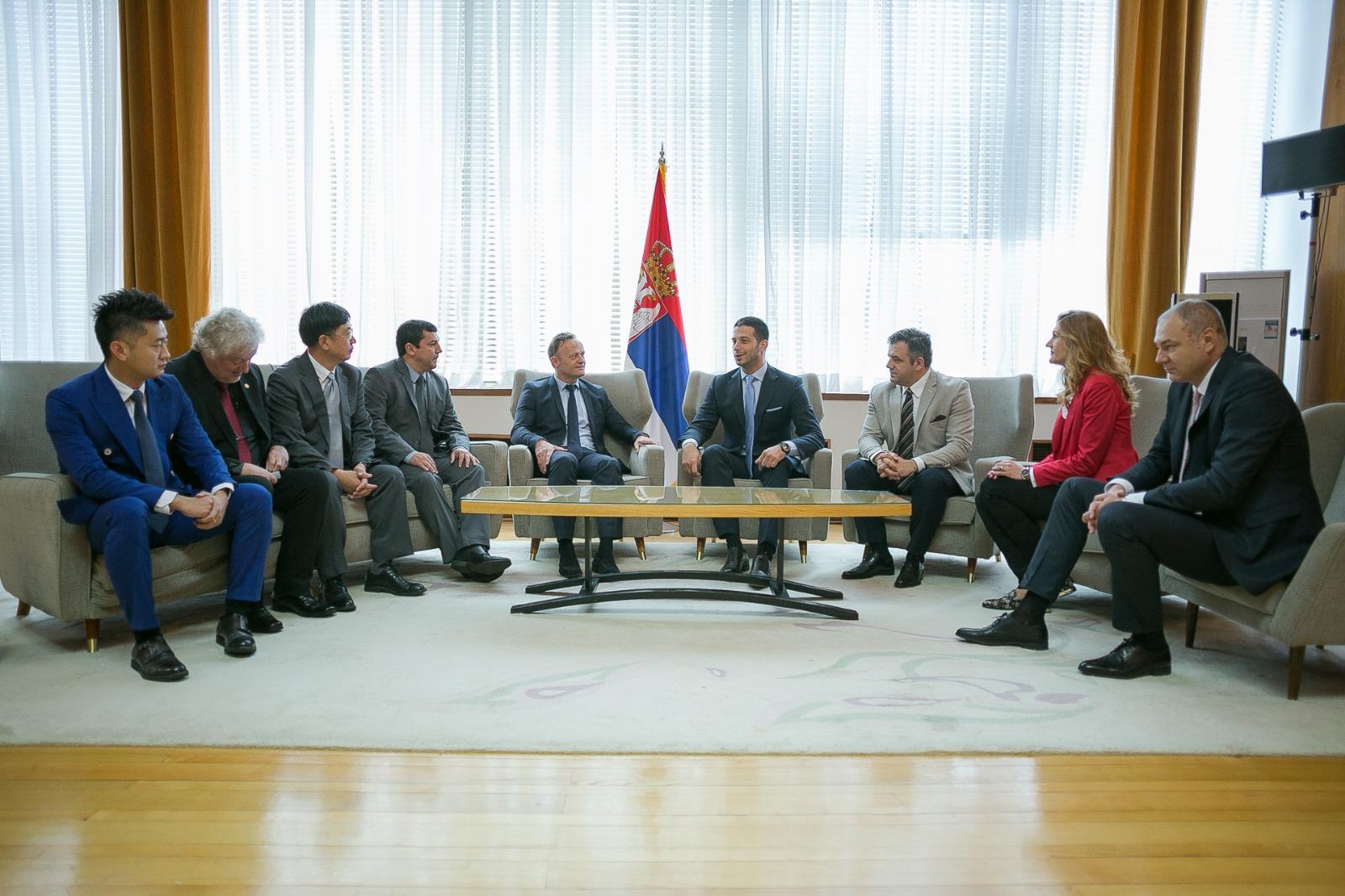 Ministar Udovičić sastao se sa predsednikom Međunarodne federacije za školski sport