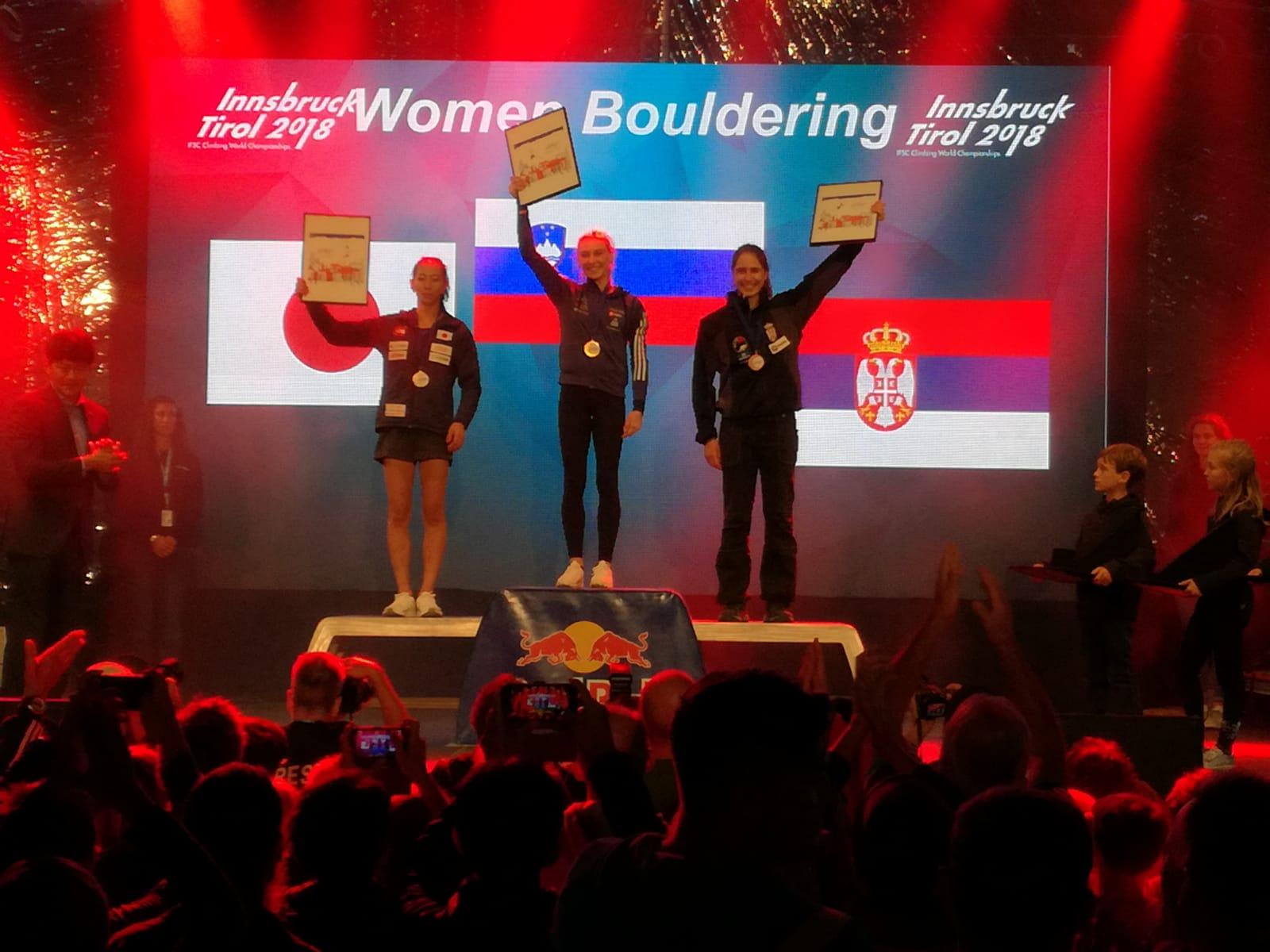 Министар Удовичић честитао освајање медаље Сташи Гејо