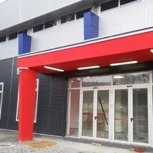 atletska dvorana - projekat