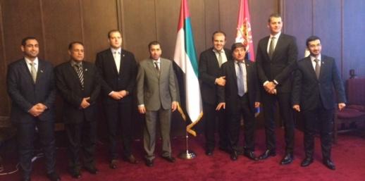 Делегација Уједињених Арапских Емирата у радној посети Републици Србији