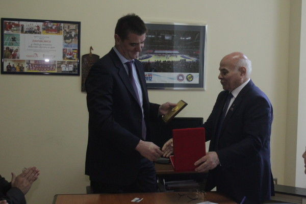 Перуничић угостио генералног секретара НОК-а Азербејџана