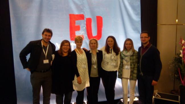Клашња на састанку Владиних представника за младе у Луксембургу