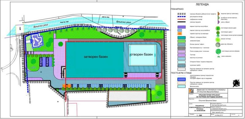 Изградња ватерполо тренажног центра у Врњачкој Бањи